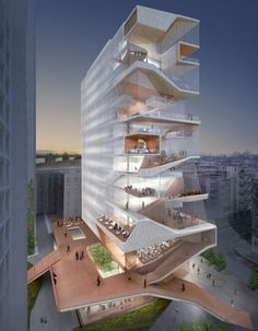 Columbia University Medical Center Education Building; Courtesy of Diller Scofidio + Renfro and Columbia Medical Center