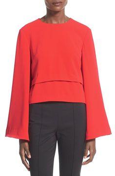 Finders Keepers the Label Bell Sleeve Top available at #Nordstrom