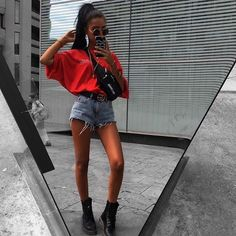 Image about fashion in outfits by icg. on We Heart It Image about fashion in outfits by icg. on We Heart It Mode Outfits, Trendy Outfits, Fashion Outfits, Fashion Trends, Skirt Outfits, Spring Look, Vetement Fashion, Outfit Goals, Mode Style