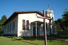 Igreja ucraniana do distrito de Bairro dos França, em Ortigueira