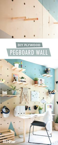 Give your child the bedroom of his dreams with this DIY plywood pegboard wall from Aniko & 94 best Eyewear display images on Pinterest | Market displays ...