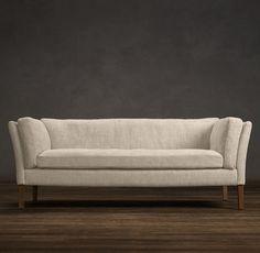 Sorensen Upholstered Sofas | Sofas | Restoration Hardware (Sand, 100% Linen). Extra-deep, 7' long, $2525
