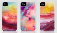 B SOUP: DIY Watercolor iPhone Case