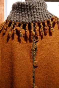 Textile Fiber Art, Fibre Art, Crochet Necklace, Textiles, Knitting, Jewelry, Fashion, Scarves, Moda