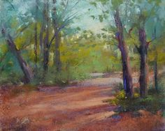 How Many Leaves Does the Tree Need?, painting by artist Karen Margulis