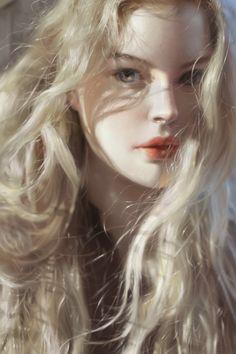 Портрет девушки. Портрет, девушки, Digital, d2, арт