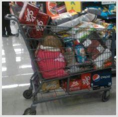 Meanwhile all Wallmart.........( oops parent fail lol )