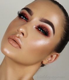"""980 Likes, 59 Comments - Abbey Stojanovic (@abbeystojmua) on Instagram: """"Gosh did I find some new favourite products doing this look! I'll keep you posted on them as…"""""""
