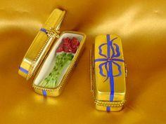 Rose box gold limoges - Porcelain Limoges from France - Limoges Factory Co.  $275.00