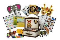 Animals Trackers Program.Monthly shippment