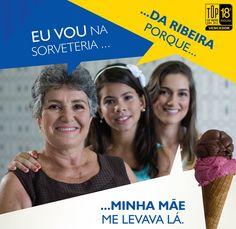 A Sorveteria da Ribeira é Top of Mind desde a geração de sua bisavó.
