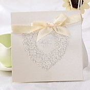 Classic Heart Design Square Wedding Invitatio... – AUD $ 54.93