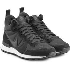 4d5ffb8ff06f Nike Internationalist Mid Sneakers ( 91) ❤ liked on Polyvore featuring  shoes
