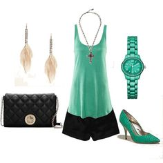 Turquoise -- minus the purse