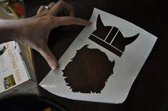 Cutting Freezer Paper with a Silhouette Cutter