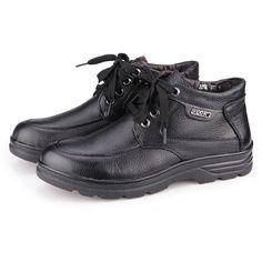 Sale 18% (61.55$) - Genuine Leather Big Size Mens Dress Shoes Footwear