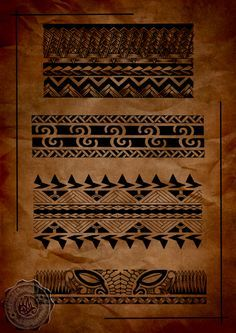 TATTOO MAORI: MAORI TATTOO BRACELETE
