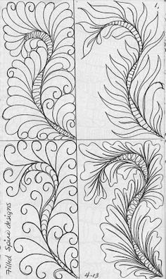 LuAnn Kessi: From My Sketch Book.....Feathers with Filled Spines http://luannkessi.blogspot.com/2013/11/from-my-sketch-bookfeathers-with-filled.html