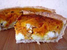 La tarte à la carotte de Blagnac, rocamadour et noix