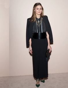 Olivia Palermo at Giorgio Armani One Night Only NYC, October 2013.