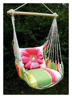 Merveilleux Fresh Lime Gerbera Daisy Hammock Chair Swing Set   Garden   Shopping.com