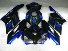 Honda CBR1000RR 2004-2005 ABS Fairing - BACARDI - Black/Blue