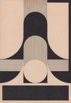 Art Deco Tattoo, Abstract Geometric Art, Kunst Poster, Principles Of Design, Mid Century Art, Art Graphique, Graphic Patterns, Graphic Design Typography, Op Art