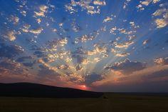 """Heavenly #Sunrise 3"" by Lynn Hopwood #LookTowardstheSky #cloudscape"