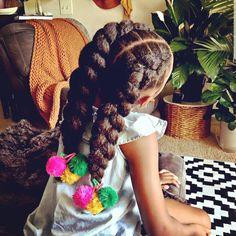 Black Kids Hairstyles, Baby Girl Hairstyles, Natural Hairstyles For Kids, Ponytail Hairstyles, Toddler Hairstyles, Natural Hair Growth, Natural Hair Styles, Deodorant For Women, Girl Hair Colors