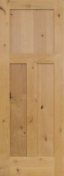 Stock Doors -  2 Panel Doors Knotty Alder Pre-Hung $198