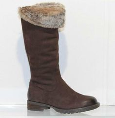 Gerry Weber made in Germany. Full length boot fur lined with an elastic gusset at the back side zip heel height Available in Moro (Brown) Nubuck Riding Boots, Heels, Fashion, Horse Riding Boots, Heel, Moda, Fashion Styles, High Heel, Fashion Illustrations