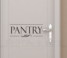 A best seller for the kitchen and a fantastic way to give your pantry a bit of sophistication.