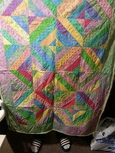 Feb Ombre strings green plush back Panel Quilts, Plush, Blanket, Knitting, Green, Blankets, Tricot, Breien, Carpet