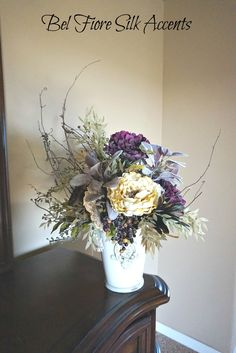 80 best silk flower arrangements images on pinterest silk flowers floral with berry arrangement mightylinksfo