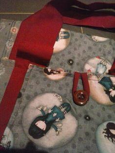 Saco costurado à mão Hour And A Half, Four Square, Hand Stitching, Sacks