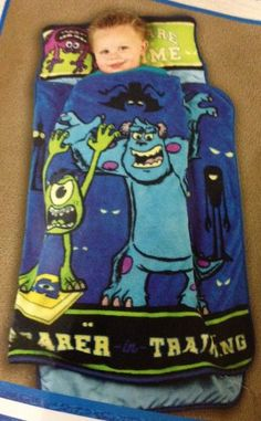 Amazon.com - Disney Pixar Monsters University Toddler Nap Mat