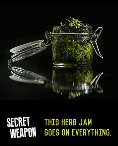 A North African herb jam that goes on everything.