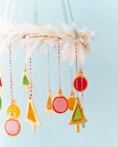 DIY Cookie Chandelier