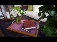 How to Make a Picture Frame Tray   At Home With P. Allen Smith