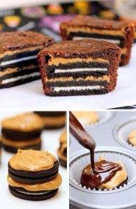 oreo-cupcakes - ingredientes en espanol