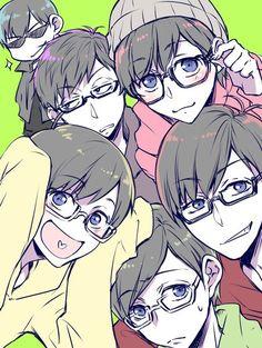 Resultado de imagem para osomatsu-san anime