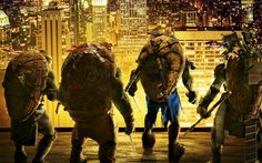 teenage mutant ninja turtles 2014 - Full HD Background 1920x1200