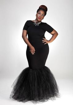 My Tiffany's Birthday Dress......I want the back cut low. Spinoff: Celebrating Beautiful Plus-size black women - Page 10