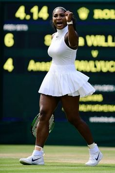 Wimbly 2016 Serena Williams. Congratulations and God Bless!!! ❤️