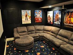 1000 Images About How To Decorating Home Theater Rooms On Pinterest Home Theater Rooms Small