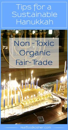 Make a few simple changes to your family traditions for a more sustainable Hanukkah and healthier holiday. Jewish Festival Of Lights, Jewish Festivals, Festival Lights, Hanukkah Traditions, Family Traditions, Hannukah, Happy Hanukkah, Healthy Hanukkah Recipes, Picnic Foods