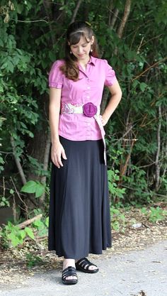 Modest Mom - Belt Flair to add a special touch to any fashion outfit