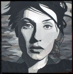 Carice by Mary Poppelier. Award of Merit, 2014 OEQC.  Posted at Creativa - Brussels
