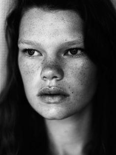 Kelly Mittendorf, so unique looking.