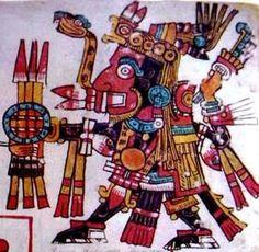 """LEYENDA DE NDAZAHUÍNDANDAA. """"Leyenda Mixteca"""". Se dice que Ndazahuí """"el señor de la lluvia o el hijo del cielo"""", a sus escasos 9 años de edad realizo una expedición militar al sur del reino de Ñuu Yúcha (Apoala). Cruzo ríos y montañas con su ejército y al llegar en la cima del YUKU NDUKANDU (cerro de la nopalera), se pinto la cara con el tinte de la grana o cochinilla"""